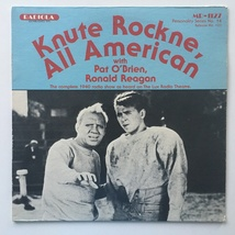 Knute Rockne All American LP, Laff Records - Radiola - MR-1127, 1981 - $38.95