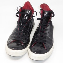 PVC CONVERSE CHUCK TAYLOR ALL STAR HIGH TOP BLACK SHOES SNEAKERS Sz 10 D... - $128.65