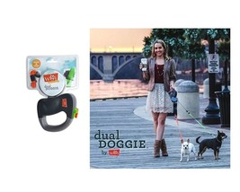 Retractable Dual Leash for Dog - Walk 2 dogs same time Technology - L/XL - $57.44