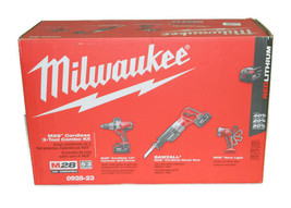 Milwaukee 0928-23 M28 28V Lithium-Ion Cordless 3-Tool Combo Kit - $584.99