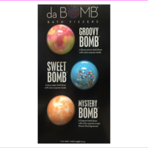 Lots of 8 da BOMB Bath Fizzers 3 Piece Set Groovy, Sweet, Mystery - $166.32