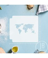 World Map 783-144 Stencil - $4.00+