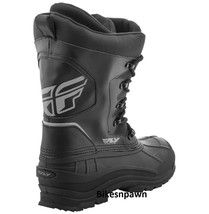 Mens Size 5 Fly Racing Aurora Snowmobile Winter Snow Boots (Womens 7) image 2