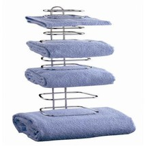 Taymor 01-1064 Hotel Chrome Four Guest Towel Holders - $22.87