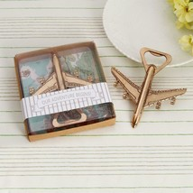 Bottle Opener Creative Airplane Metal Beer Personalized Favors And Gifts... - £5.92 GBP