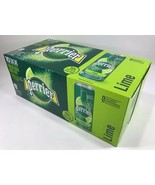 Perrier Lime - Sparkling Mineral Water 8.45 fl.oz./250ml - Pack of 10 Sl... - $24.70