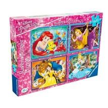 Disney Princess Bumper Puzzle Pack( Tv/ Puzzle/ Children/ Game) - $21.09