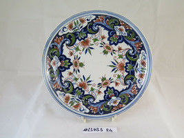 Antique plate IN Ceramic Hand-Painted Makkum 892 Ceramics Vintage Plate R4 - $96.49