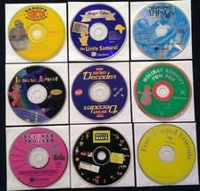 9 Vintage Win/Mac-CDs: Kids Lot #7 1995 - $15.00