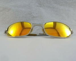 Oakley Square Wire 2.0 Silver Frame Fire Iridium Lens 05-687 RARE! (See Details) - $69.19