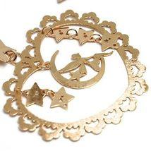 Drop Earrings Silver 925, Fairies, Stars, Heart, Magic Wand, le Favole image 2