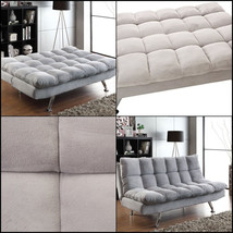 Contemporary Upholstered Living Room Coaster Sofa Bed Sleeper Futon Slee... - $535.06