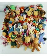 Disney Store Plush Lot Of 43 Winnie the Pooh Eeyore Tigger Most w/Tags - $93.47