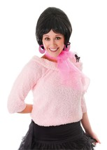 POODLE SCARF, CHIFFON PINK LADY FANCY DRESS ACCESSORY, GREASE, 1950s ROC... - $2.46