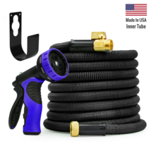 New World's Strongest Expandable Hose Set - Heavy Duty 100ft - $89.97