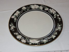 """Royal Doulton Vogue Collection Intrigue TC 1153 dinner plate 10 1/2"""" flo... - $22.96"""