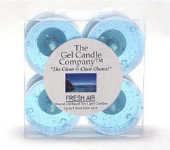 Fresh Air Odor Eliminating Technology Scented 8 hours each Gel Candle Te... - €4,21 EUR