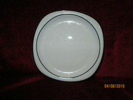 "ROSENTHAL CONCEPT 5 ANTHRACITE black salad plate 7 5/8"" - $9.85"
