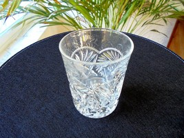 Heisey Pinwheel and Fan 6 oz. Clear Flat Tumbler Signed - $49.45