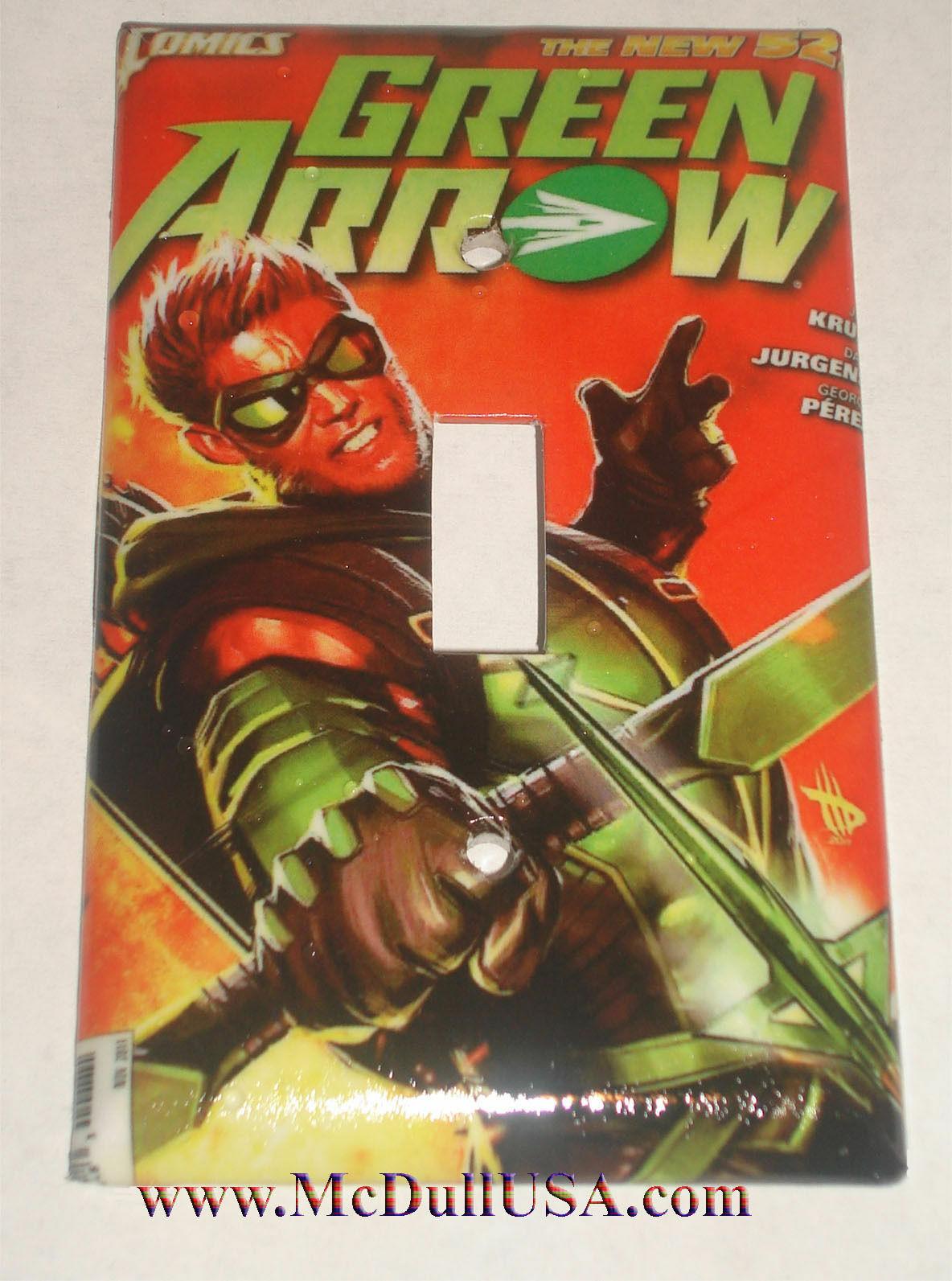 Green arrow comic single toggle