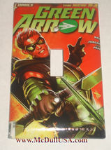 Green Arrow Comic Book Light Switch Duplex Outlet Cover Plate & more Home decor image 1