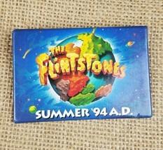 Vintage Universal Studios The Flintstones Summer 94 A.D. promo pin 1993 - $13.74