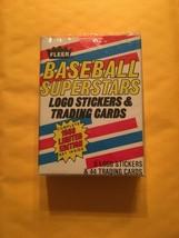 1988 Fleer Limited Edition Baseball Superstars Set 44 Cards 6 Stickers N... - $4.79