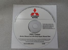 2009.5 2009 2004 Mitsubishi Galant Service Shop Manual Cd Factory Oem Bargain - $43.52