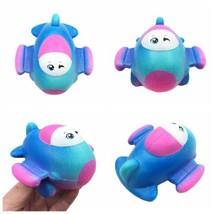 2018 New Soft Toys Squishy Slow Rising Cartoon Galaxy Plane Squishy Kids Gifts - $7.29