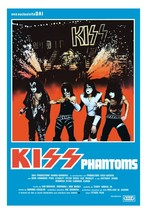 KISS Band 24 x 35 KISS MEETS THE PHANTOM 1978 Italian Reprint Poster - Rock - $50.00