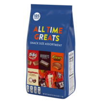 Hershey's All Time Greats Assortments Choclate Candy 38.9 Oz. -105 Counts - $24.35