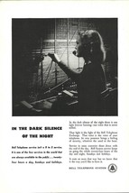Telephone Operator AD 1948 Bell Telephone System Occupational Photo Prin... - $14.99