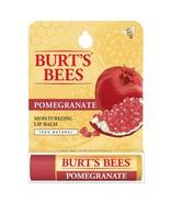 Burt's Bees Pomegranate Moisturizing Lip Balm 100% Natural Net Wt. 0.15 oz. - $4.48