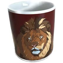 "Otagiri ""The Lion"" Japan Ceramic Coffee Cup Mug Signed T. Taylor - £21.00 GBP"