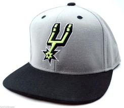 San Antonio Spurs Adidas Bright Lights NBA Team Snapback Basketball Cap Hat - $20.85