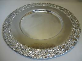 Silver Plate Godinger Silver Art Co Serving Tra... - $14.99