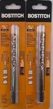 """BOSTITCH BSA5211M  3/8"""" (9.5 mm) Rotary Hammer Drill Bit 2pcs. Germany - $10.89"""