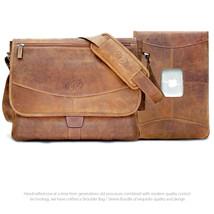 "MacCase Premium Leather Shoulder Bag / 15"" MacBook Pro Sleeve Bundle - $349.95"