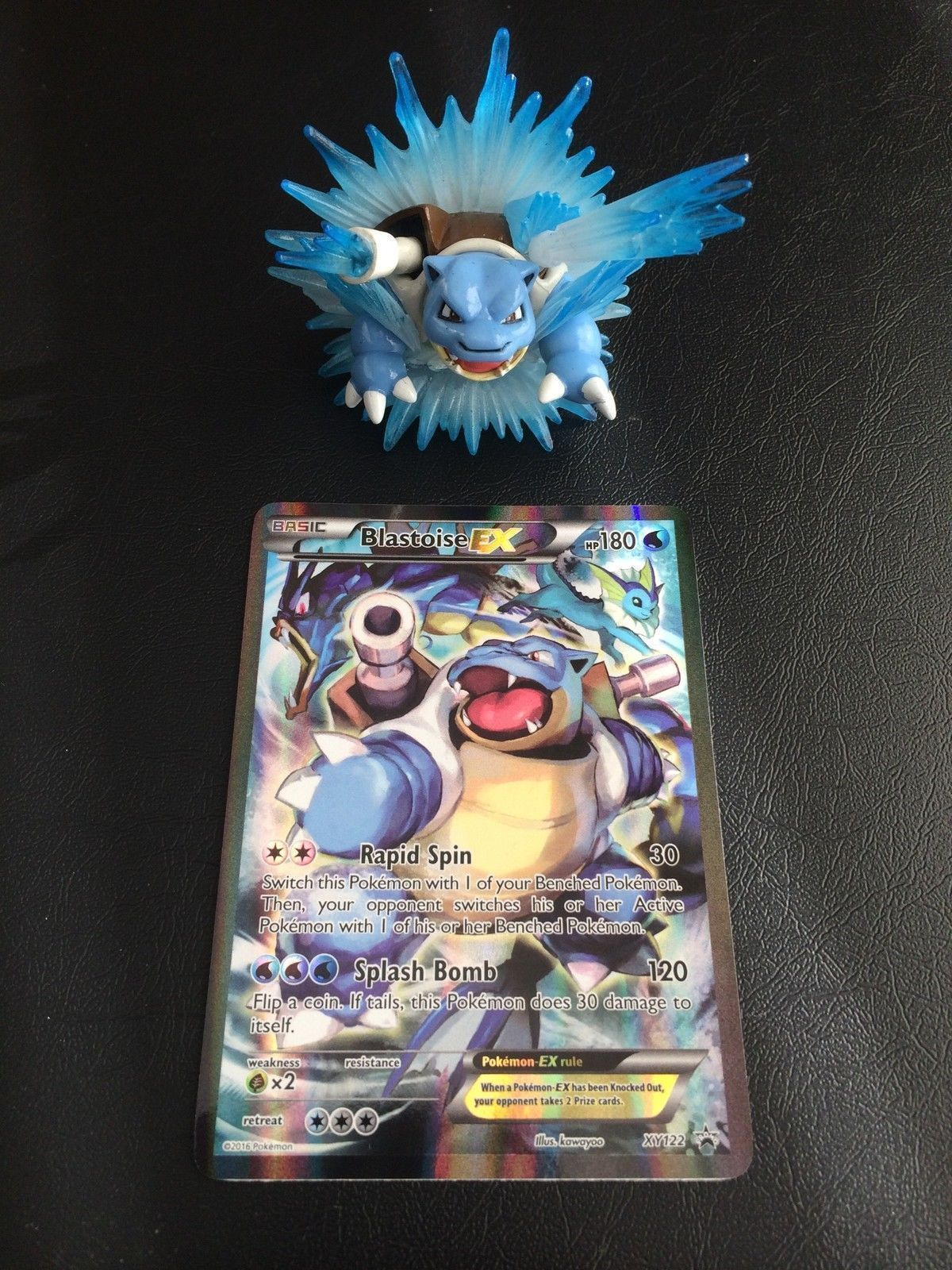 Pokemon TCG Generations Elite Trainer Box + Blastoise EX Red and Blue Collection