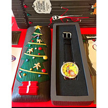 Disney Nightmare Before Christmas FOSSIL Wrist watch Christmas holiday w... - $176.22