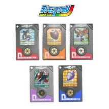 Bandai Digimon Data Plate File DDP Chip Digimon Accel Digivice Set of 5 Hologram - $54.45