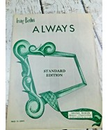 Sheet Music Irving Berlin's Always Standard Edition NY 1952  - $14.84
