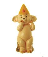 Danbury Mint 9.5cm high pig figurine Piggies collection Pig Ignorant - $23.35