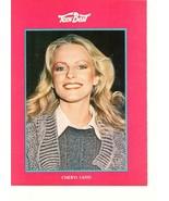 Cheryl Ladd teen magazine pinup clipping Teen Beat close up grey sweater - $1.50