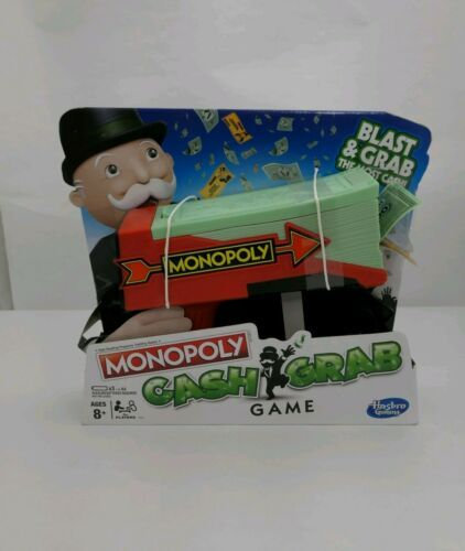 Primary image for Hasbro Gaming Monopoly Cash Grab Game Ages 8+