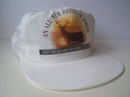 John Deere K Products Hat Vintage 6000 7000 Series Tractor Snapback Cap Made USA - $30.71