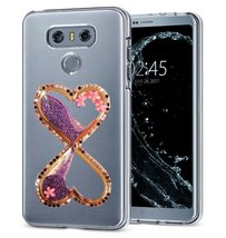 HTC One X10 Case,Creative Handmade Wine Sandglass Dynamic Liquid Glitter Bling S - $12.86
