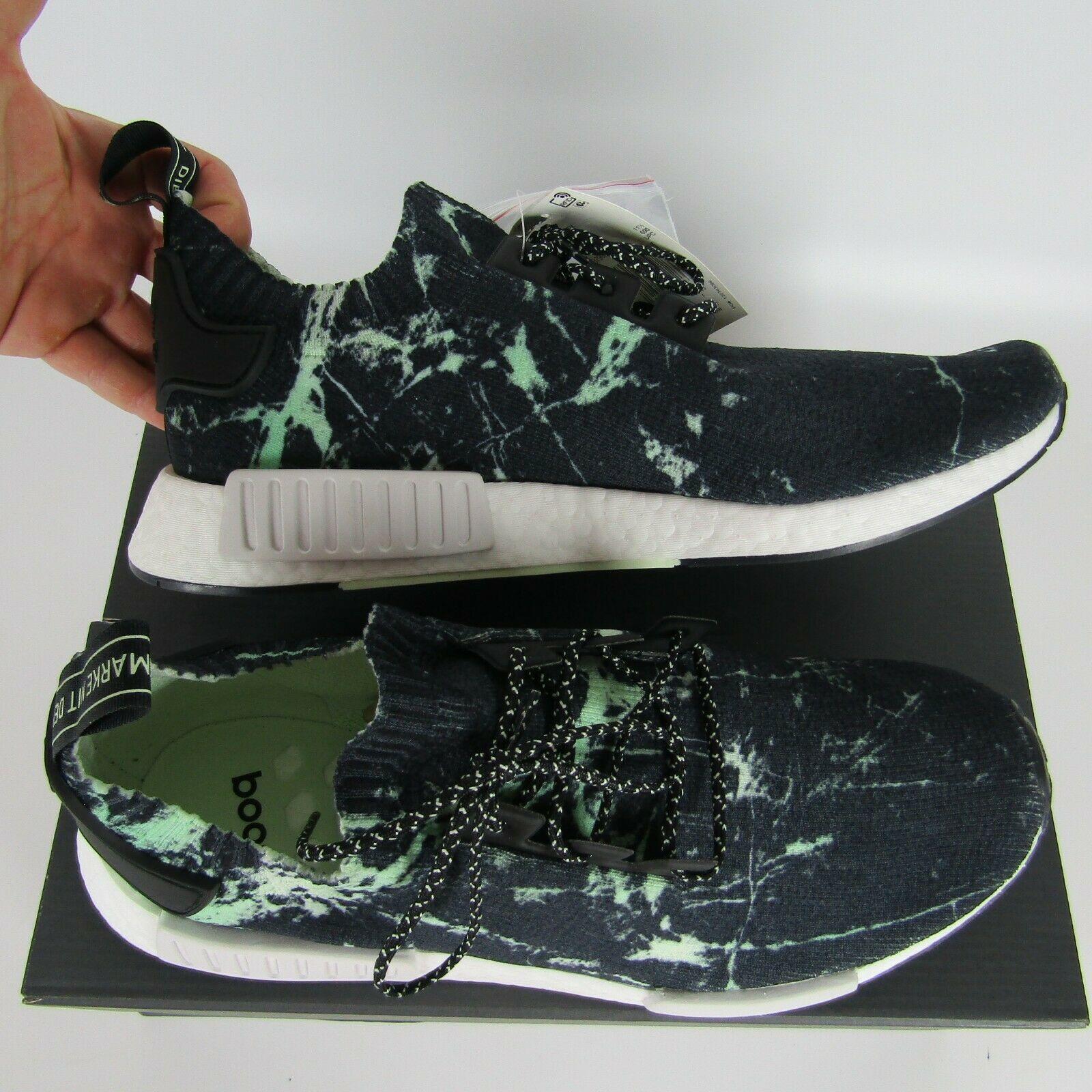 "Adidas Nmd_R1 Primeknit "" Grün Marmor "" Schuhe Herren Größe 12 BB7996 image 6"