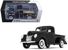 1940 Ford Pickup Truck Black 1/25 Diecast Model Car by First Gear - $72.79