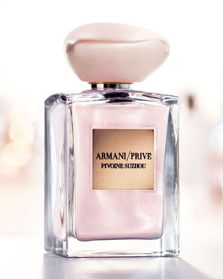 SOIE DE NACRE by ARMANI/PRIVE 5ml Travel Spray Perfume PIVOINE SUZHOU SHIMMER